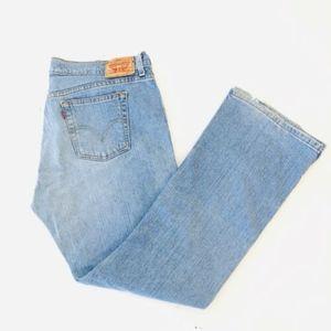 Levis 515 Womens Bootcut Jeans Size 14M